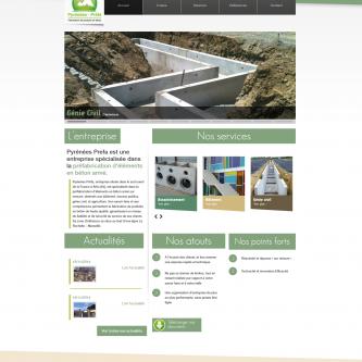 Pyrénées Préfa site web
